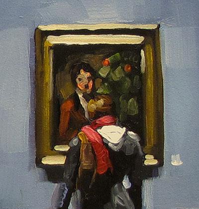 """A Little Glimpse"" original fine art by Karin Jurick"