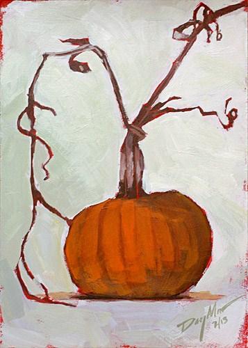 """""""Pumpkin"""" original fine art by Mike Daymon"""