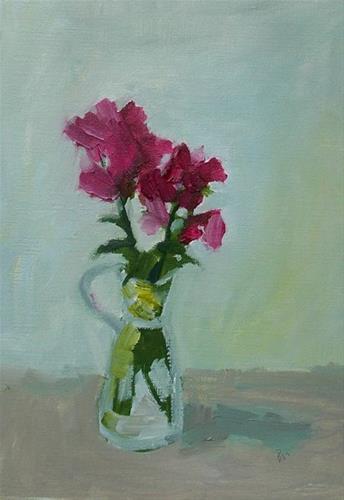 """""""Something wild"""" original fine art by Pamela Munger"""
