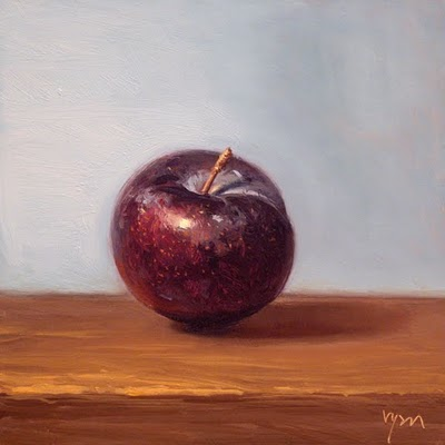 """Plum No. 2"" original fine art by Abbey Ryan"