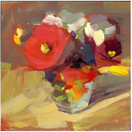 """""""#824 Serenade"""" original fine art by Lisa Daria"""
