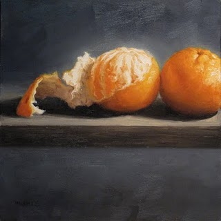 """Peeled Left"" original fine art by Michael Naples"