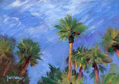"""Cathie's Vista in Paradise"" original fine art by Sue Furrow"