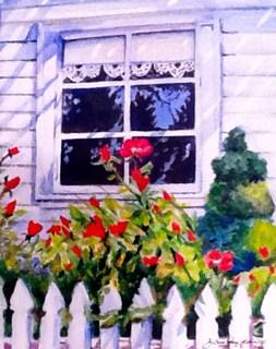 """""""Whitney's Window"""" original fine art by JoAnne Perez Robinson"""