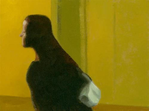 """""""The Drea - Searching"""" original fine art by Nancy Herman"""
