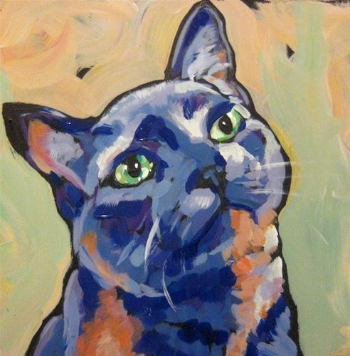 """""""March 4, Carlos"""" original fine art by Kat Corrigan"""