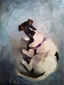 """Frida"" original fine art by Clair Hartmann"