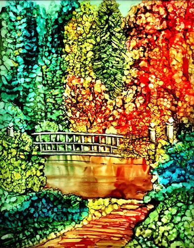 """Autumn I"" original fine art by Korinne Carpino"
