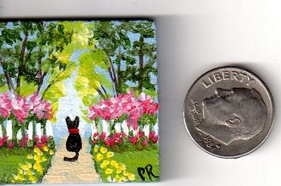 """Entrance to the Secret Garden"" original fine art by Patricia Ann Rizzo"