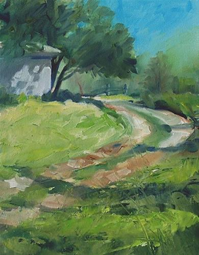 """""""Path to the Barn"""" original fine art by Michael Holter NWS"""