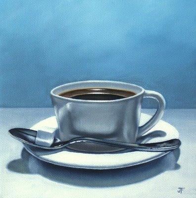"""With Sugar"" original fine art by Jelaine Faunce"