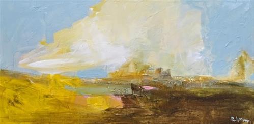 """Travel Lightly"" original fine art by Pamela Munger"