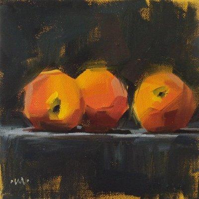 """Limelight"" original fine art by Carol Marine"