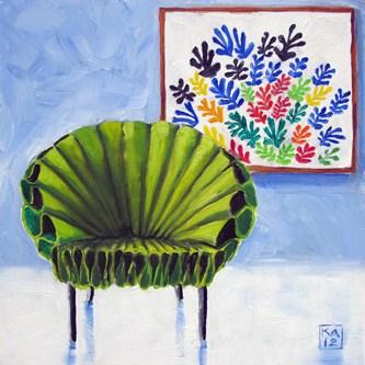 """fanfare"" original fine art by Kimberly Applegate"