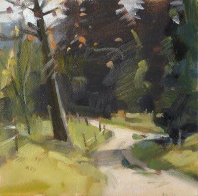 """""""End of Summer"""" original fine art by Carol Marine"""