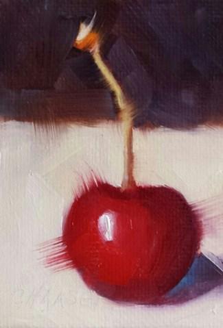 """Comfort Food"" original fine art by Cindy Haase"