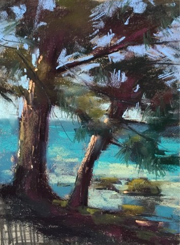 """Pastel Workshop in Croatia Day 2"" original fine art by Karen Margulis"