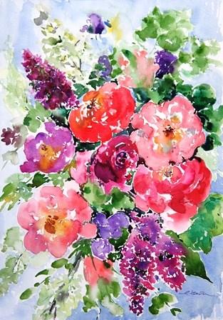 """""""Spring Bloomimg #3"""" original fine art by Lisa Fu"""