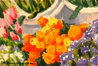 """To Market"" original fine art by JoAnne Perez Robinson"