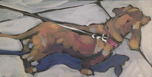 """Ear Wings And Shadow"" original fine art by Kat Corrigan"