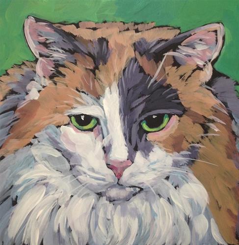 """March 17, Mackenzie"" original fine art by Kat Corrigan"