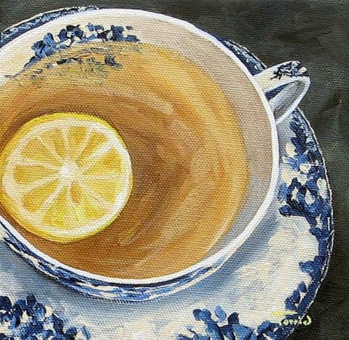 """Afternoon Tea"" original fine art by Torrie Smiley"