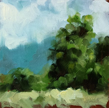 """""""Loosely Summer"""" original fine art by Cindy Haase"""
