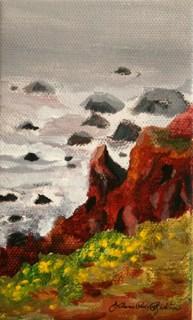 """""""Stormy Weather"""" original fine art by JoAnne Perez Robinson"""