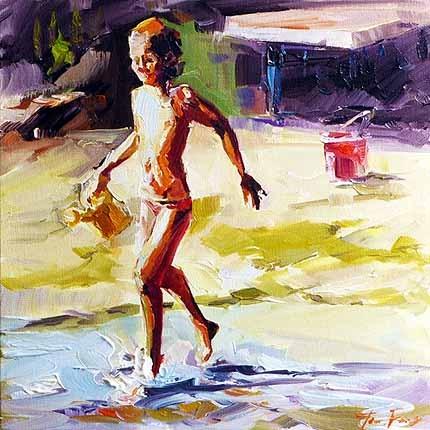 """Wasser"" original fine art by Jurij Frey"