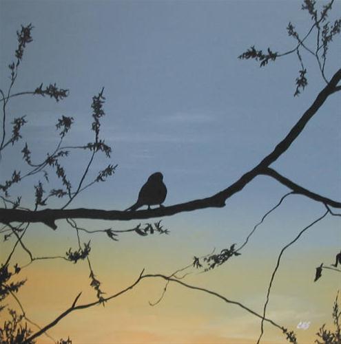 """""""The Early Bird"""" original fine art by ~ces~ Christine E. S. Code"""