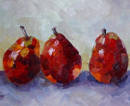 """""""Two's Company"""" original fine art by Kristen Dukat"""