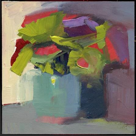 """2267 Nonchalant"" original fine art by Lisa Daria"