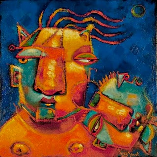 """Mismatch"" original fine art by Brenda York"