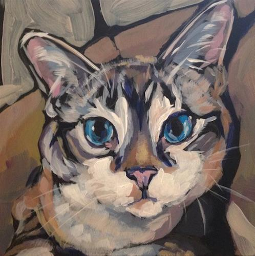 """March 5, Tango"" original fine art by Kat Corrigan"