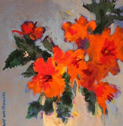 """""""Mother's Day Bouquet 6, Contemporary Floral Paintings by Arizona Artist Amy Whitehouse"""" original fine art by Amy Whitehouse"""