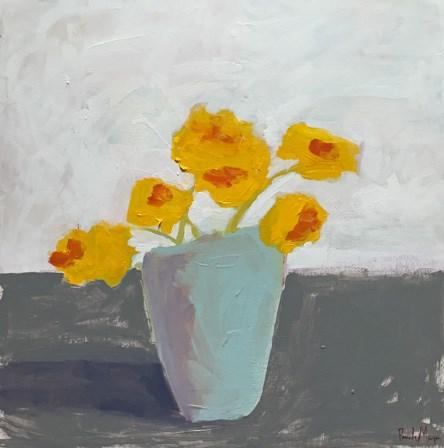 """bright yellow"" original fine art by Pamela Munger"