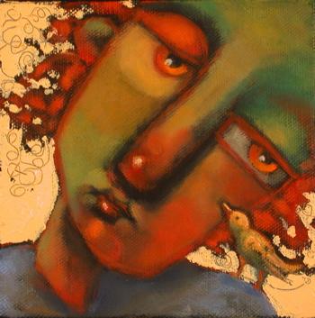 """Whispering Smith"" original fine art by Brenda York"