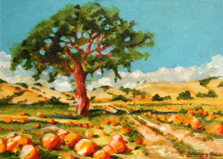 """Fall under the spell"" original fine art by JoAnne Perez Robinson"