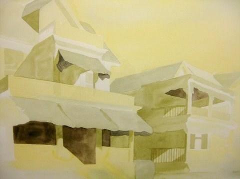 """""""Cape May"""" original fine art by Priscilla Bohlen"""