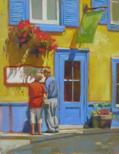 """Primary colors"" original fine art by Kathy Weber"