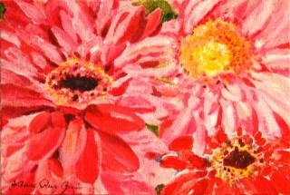 """Sea of Pink"" original fine art by JoAnne Perez Robinson"