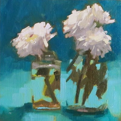 """""""OCEAN"""" original fine art by Helen Cooper"""