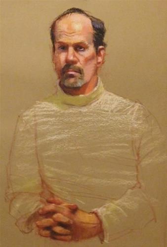 """Portraits in pastel"" original fine art by Kathy Weber"
