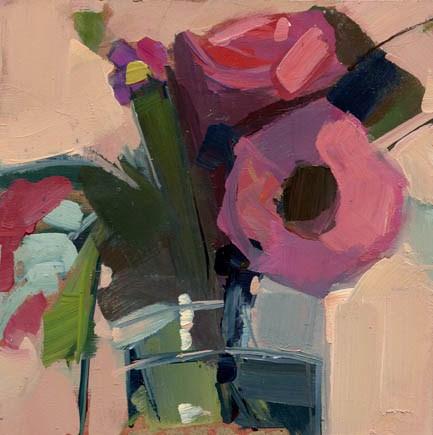 """""""#1043 Top of the. . . (fridge)"""" original fine art by Lisa Daria"""
