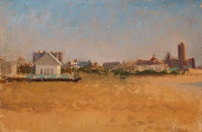 """Avon Pavilion"" original fine art by Abbey Ryan"