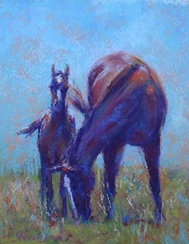 """Two of a Kind"" original fine art by Trish Stevenson"