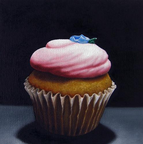 """Strawberry Shortcake"" original fine art by Jelaine Faunce"