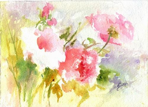 """""""Sweet and Light"""" original fine art by Sue Dion"""