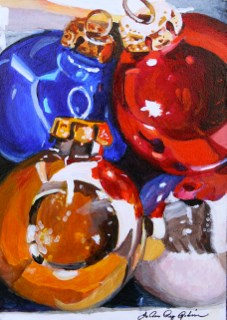 """""""Let's get this Party Started"""" original fine art by JoAnne Perez Robinson"""