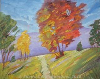 """""""Early Autumn"""" original fine art by Shawn Deitch"""